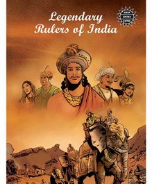 Amar Chitra Katha Legendary Rulers Of India Book - English