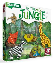 Toy Kraft Origami In the Jungle Kit - Multicolor