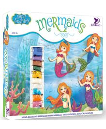 Toy Kraft  Sand and Sequins Mermaids Activity Kit - Multicolor