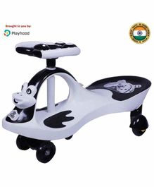 Playhood Toad Swing Car with Music - Black