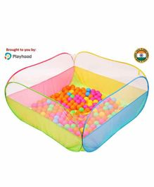Playhood Activity Ball Pool with Balls - Multicolor