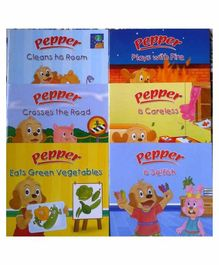Sterling Learn With Pepper Books Set 1 Pack of 6 - English