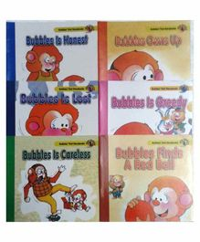 Sterling Bubbles Book Set No 1 pack of 6 - English