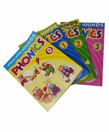 Sterling Working With Sounds Phonics Set of 4 - English