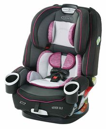 Graco 4 Ever DLX 4 in 1 Car Seat  - Pink Black