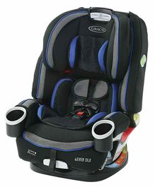 Graco 4 Ever DLX 4 in 1 Car Seat  - Blue Black