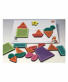 Butterflyfields Magnetic Shape Puzzle - 23 Pieces