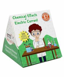 Butterflyfields DIY Chemistry Experiments Electrolysis and Electroplating Kit - Multicolour