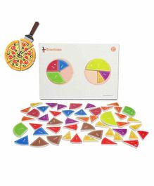Butterflyfields Brain Boosting Magnetic Math Puzzle Kit - Multicolour