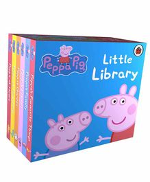 Penguin UK Peppa Pig Little Library Pack of 6 Books - English