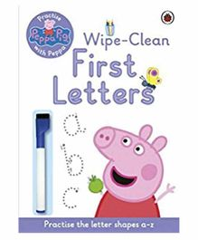 Penguin UK Peppa Pig Practise with Peppa Wipe-Clean First Letters - English