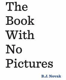 Peguin UK The Book With No Pictures by B. J. Novak - English