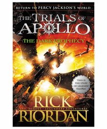 Peguin UK The Dark Prophecy The Trials of Apollo Book 2 by Rick Riordan - English