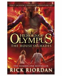 Peguin UK The House of Hades by Rick Riordan - English