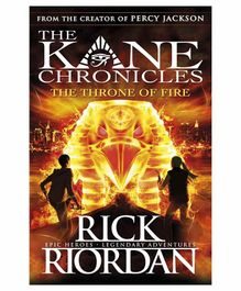 Penguin UK The Throne of Fire The Kane Chronicles Book 2 - English