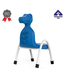OK Play Chair Dino Design Blue -  Height 8 Inches