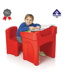 Ok Play Table & Chair Set - Red