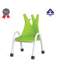 OK Play Trunk Chair Green - Height 8 Inches