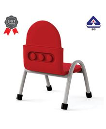 OK Play Trunk Chair Red - Height 10 Inches