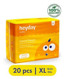 Heyday Natural & Organic Extra Large Baby Diapers - 20 Diapers