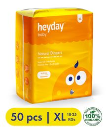 Heyday Natural & Organic Extra Large Baby Diapers - 50 Diapers