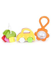 Funskool Giggles Rattle Gift Set Pack Of 3  (Color & Design May Vary)