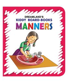 Kiddy Board Book Manners - English