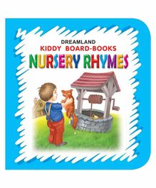 Kiddy Board Book - Nursery Rhymes