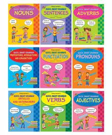 Young Learner Publication Quick Smart Grammar Series Pack of 9 - English