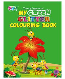 Young Learner Publication Glitter Colouring Books Pack of 4 - English
