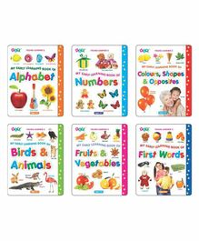 Young Learner Publication My Early Learning Book Pack of 6 - English
