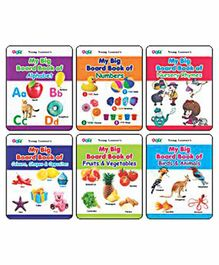 Young Learner Publication My Big Board Book Pack of 6 - English