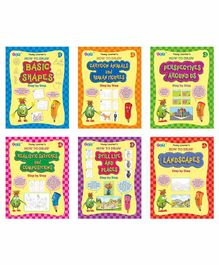 Young Learner Publication How To Draw Books Pack of 6 - English