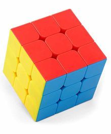 VWorld High Stability Stickerless 3 x 3 x 3 Speed Cube Puzzle - Multicolor