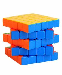 VWorld High Speed Stickerless 5 x 5 Magic Puzzle Cube - Multicolor