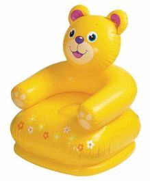 VWorld Inflatable Teddy Bear Chair - Yellow