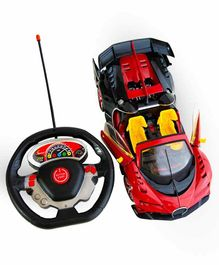 Sanjary Remote Controlled Car With Music - Red