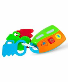 Sanjary Musical Tinkler Rattle Toy - Multicolour