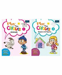 Book Ford Publications Play with Colours Book Pack of 2 - English
