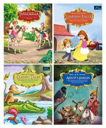 Book Ford Publication Story Book Pack of 4 - English