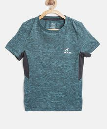 Alcis Solid Half Sleeves Tee - Blue
