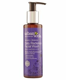 Urban Veda Radiance Turmeric Daily Facial Wash - 150 ml