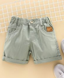 Little Kangaroos Knee Length Shorts - Pista Green