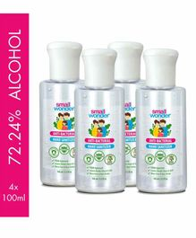 Small Wonder Hand Sanitizer Pack of 4 - 100 ml each