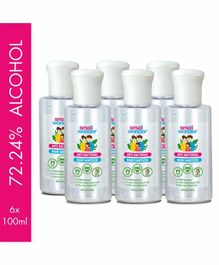 Small Wonder Hand Sanitizer Pack of 6 - 100 ml each