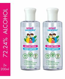 Small Wonder Hand Sanitizer Pack of 2 - 200 ml each