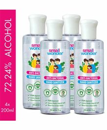 Small Wonder Hand Sanitizer Pack of 4 - 200 ml each
