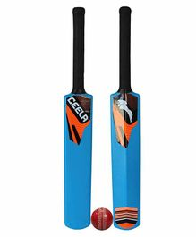 Ceela Cricket Bat and Wind Ball Set - Blue