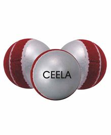 Ceela Swing Training Ball Set of 3 - Red Silver