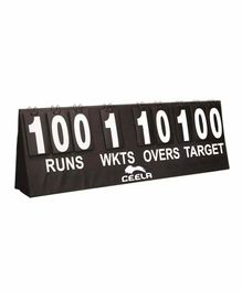 Ceela Cricket Score Board - Black